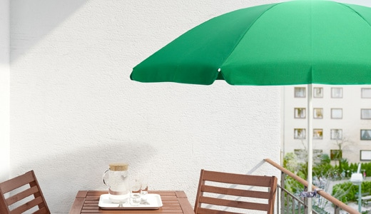 New Haven Market Umbrellas Intended For Latest Umbrellas & Gazebos – Ikea (View 16 of 25)