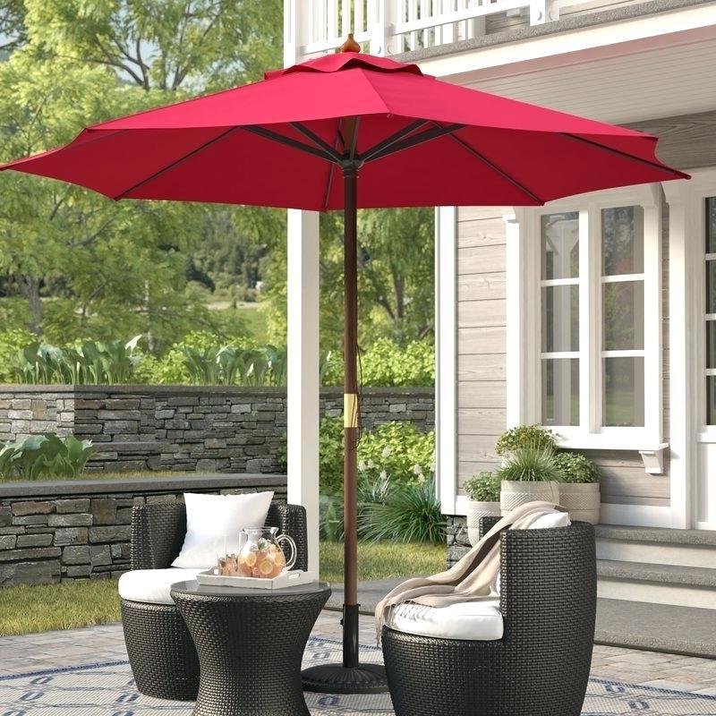 New Haven Market Umbrellas with regard to Newest 9 Market Umbrella – Bradenpower