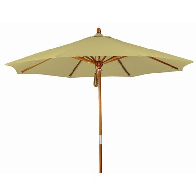 Newest Beachcrest Home Mraz 9' Market Umbrella Fabric Color: Sunbrella A with Mraz Market Umbrellas