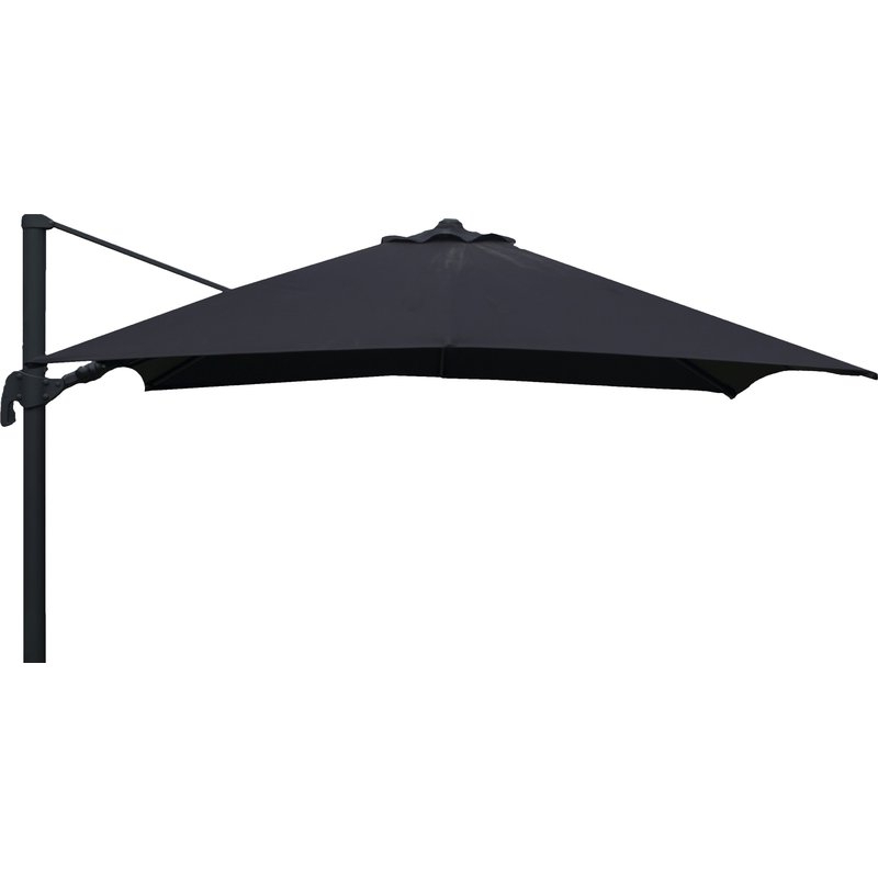 Newest Bondi Square Cantilever Umbrellas Intended For Grote Liberty Aluminum Square Cantilever Umbrella (View 22 of 25)