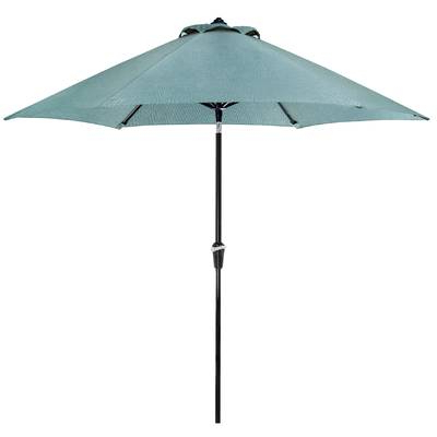 Newest Brecht Lighted Umbrellas Throughout Brecht 9' Lighted Umbrella & Reviews (View 2 of 25)