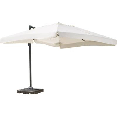 Newest Carlisle 10' Square Cantilever Sunbrella Umbrella & Reviews (View 19 of 25)