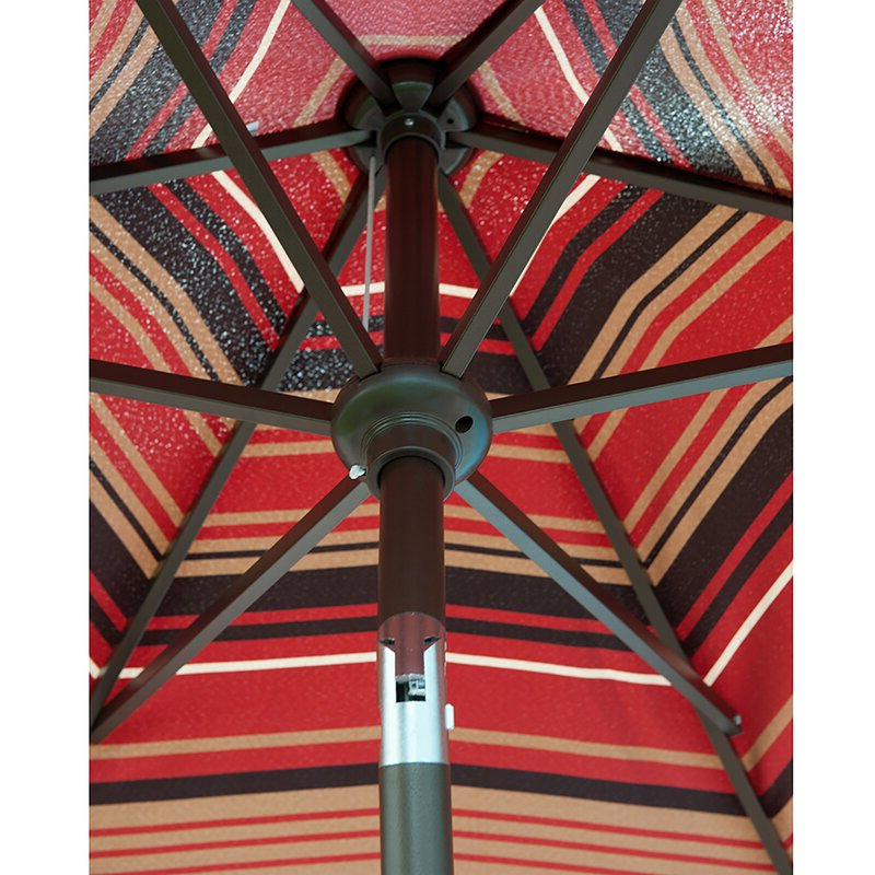 Newest Folkeste 9' Market Umbrella with regard to Folkeste Market Umbrellas