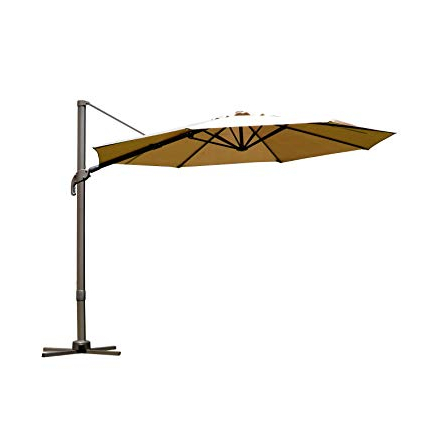 Newest Jaelynn Cantilever Umbrellas In Outsunny  (View 10 of 25)