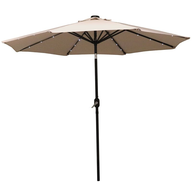 Newest Jericho 9' Market Umbrella Intended For Kenn Market Umbrellas (View 9 of 25)