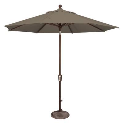 Newest Launceston 10' X 6.5' Rectangular Market Umbrella intended for Bonview Rectangular Market Umbrellas