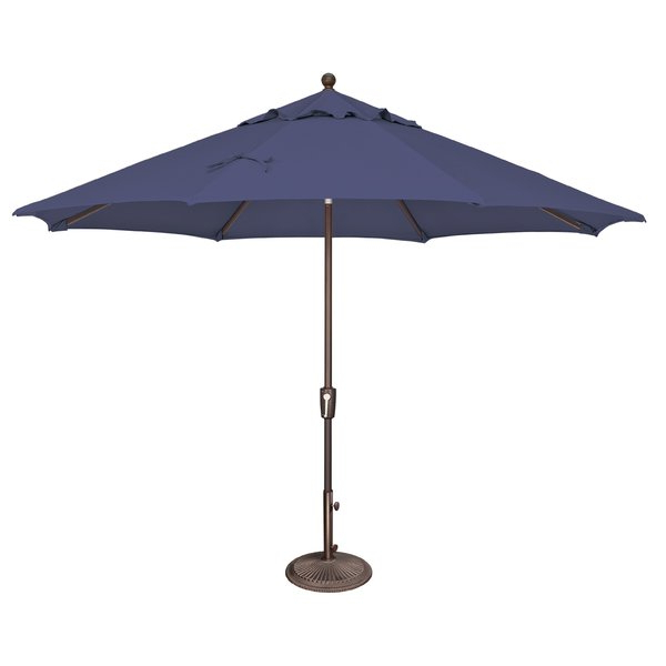 Newest Launceston 11' Market Umbrella throughout Keegan Market Umbrellas