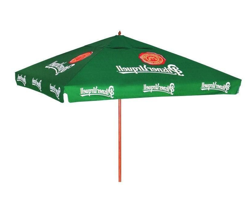 Newest Pilsner Urquell 9 Foot Beer Umbrella Market Patio Style New Huge In Caleb Market Umbrellas (View 16 of 25)