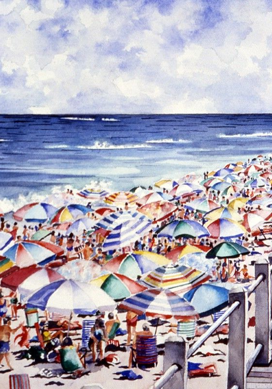 Newest Seaside Beach Umbrellas With Beach Umbrellas (View 9 of 25)