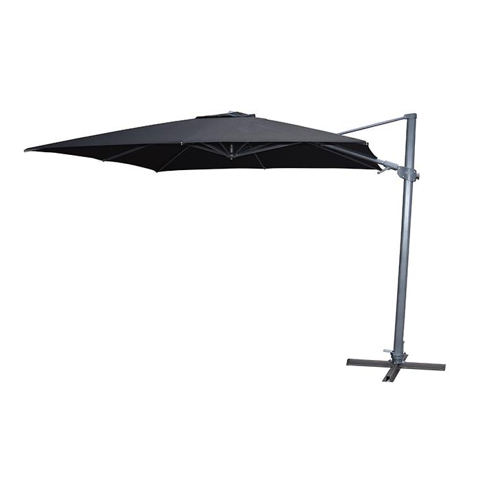 Newest Shelta Regis 3M Square Cantilever Umbrella with regard to Maidste Square Cantilever Umbrellas