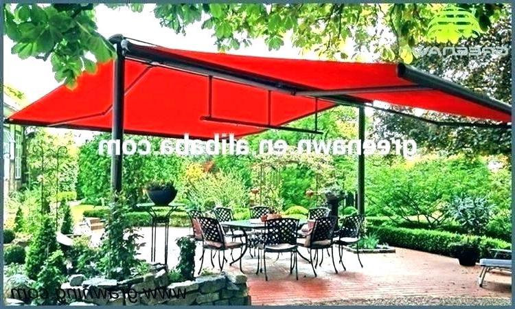 Newest Trotman Cantilever Umbrellas Within Minimalist Freestanding Patio Umbrella Of Cobana 10 Offset Hanging (View 15 of 25)
