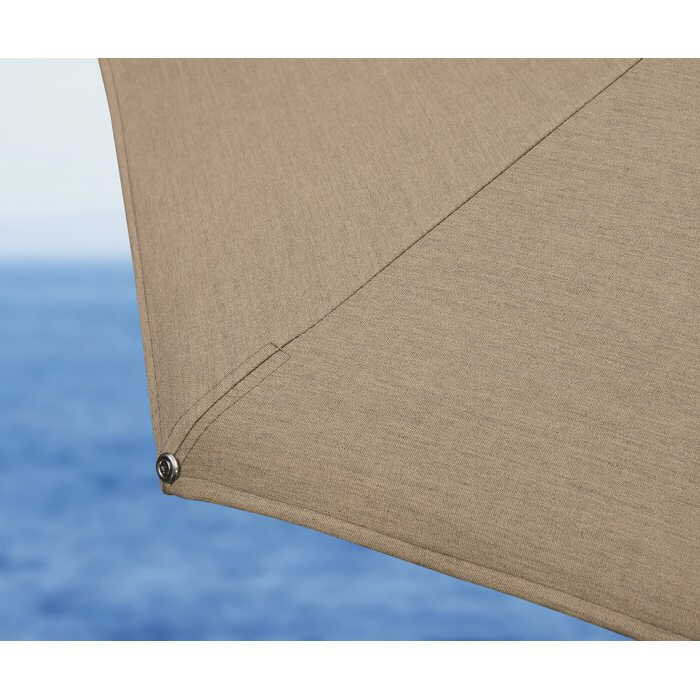 Newest Voss 11' Cantilever Sunbrella Umbrella Pertaining To Voss Cantilever Sunbrella Umbrellas (View 11 of 25)
