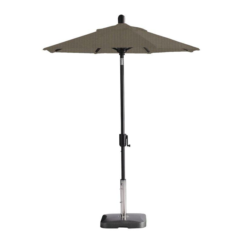 Newest Wieczorek Auto Tilt Rectangular Market Sunbrella Umbrellas inside Wieczorek Auto Tilt 6' Market Sunbrella Umbrella