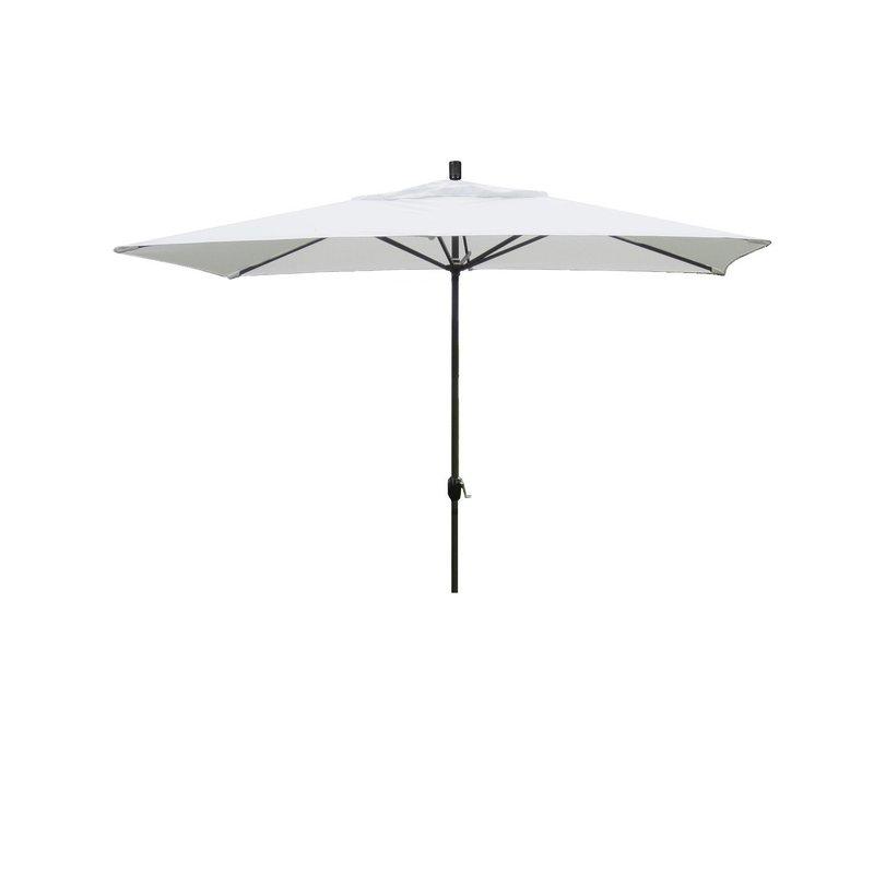 Northfleet 10' X 6' Rectangular Market Umbrella Inside Most Recent Gries Rectangular Market Umbrellas (View 16 of 25)