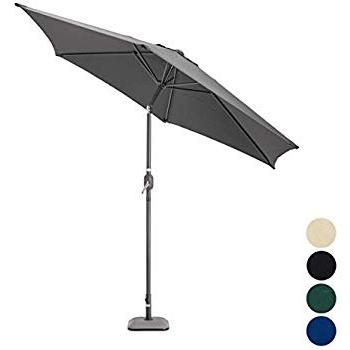 Nova Outdoor Living Garden Parasol – Aluminium Metal Outdoor Patio Pertaining To Latest Julian Market Umbrellas (View 17 of 25)