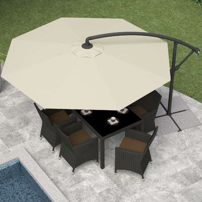 Offset With Regard To Fashionable Freda Cantilever Umbrellas (View 6 of 25)
