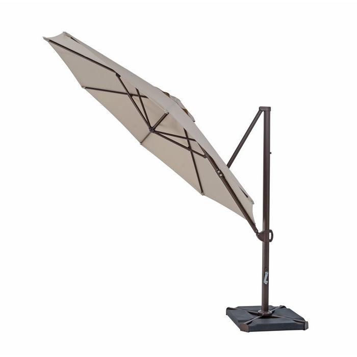 Olen Cantilever Umbrellas Throughout Famous Olen  (View 16 of 25)
