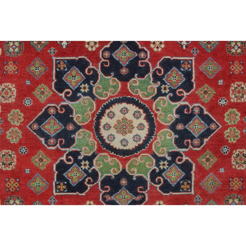 One Of A Kind Brubaker Kazak Hand Knotted Wool Red Area Rug Throughout Widely Used Brubaker Market Umbrellas (View 7 of 25)
