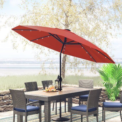 Outdoor Patio In Kelton Market Umbrellas (View 21 of 25)