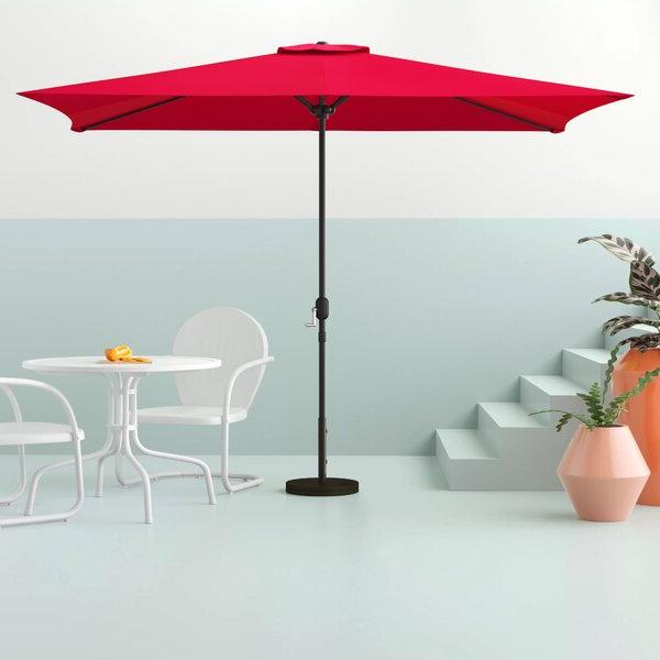Patio Rectangular Umbrella (View 8 of 25)