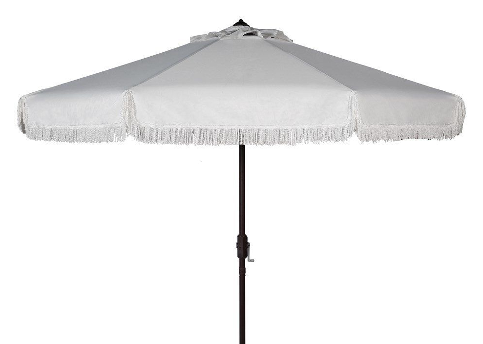 Patio Umbrella Stand, Best Pertaining To Best And Newest Drape Umbrellas (View 20 of 25)