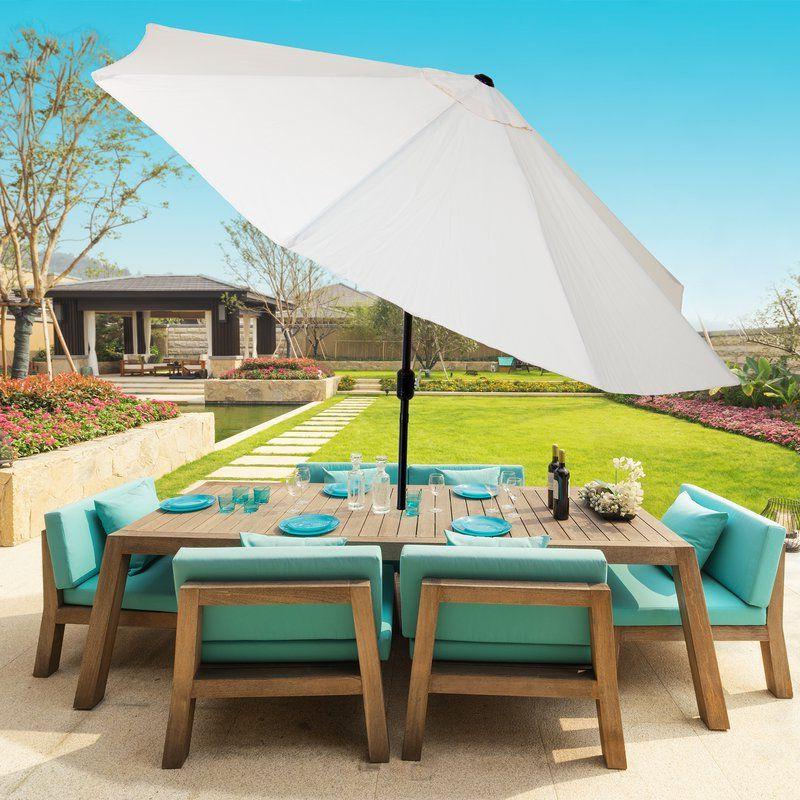 Patio Umbrellas Regarding Kelton Market Umbrellas (View 6 of 25)