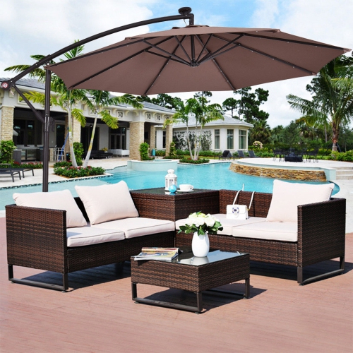 Patio Umbrellas: Stands, Offset & More (View 19 of 25)
