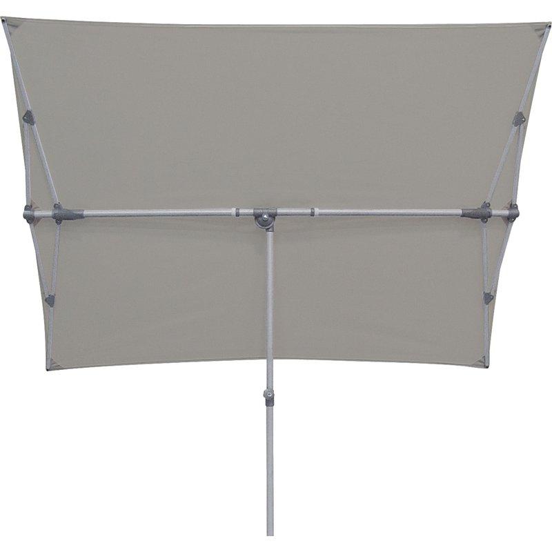 Pau Rectangular Market Umbrellas Regarding Current Cordelia 5' X 7' Rectangular Market Umbrella (View 16 of 25)