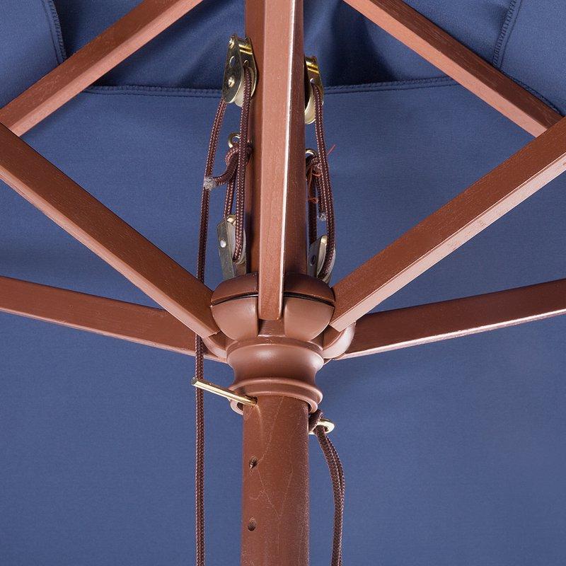 Pau Rectangular Market Umbrellas Regarding Current Pau 4.7' X  (View 17 of 25)