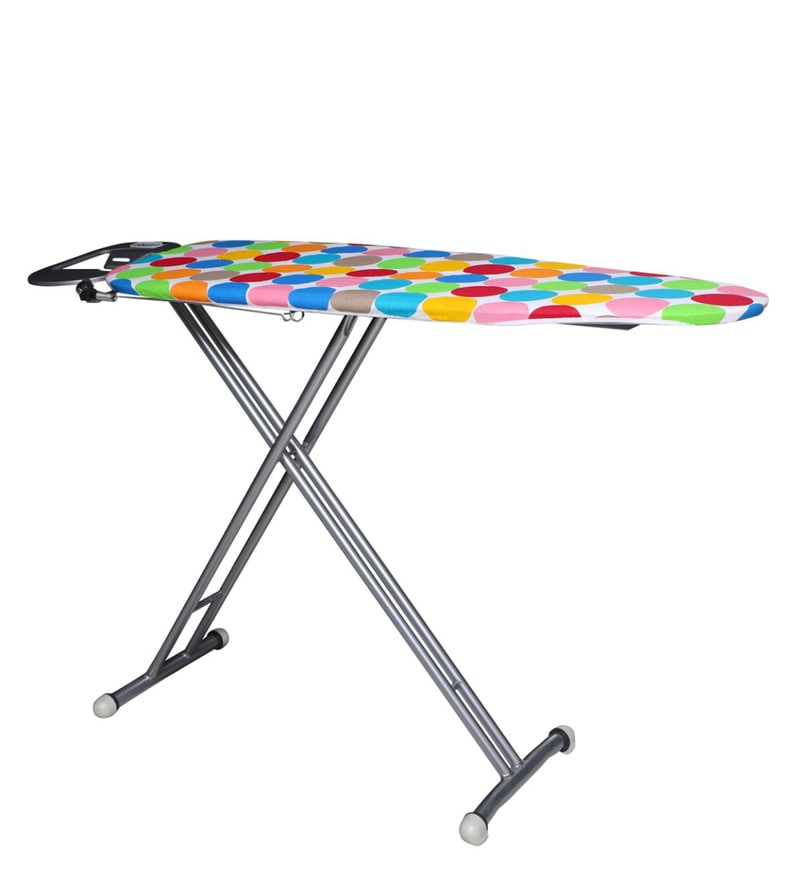 Peng Essentials Hetty Steel Ironing Board For Favorite Hettie Solar Lighted Market Umbrellas (View 13 of 25)