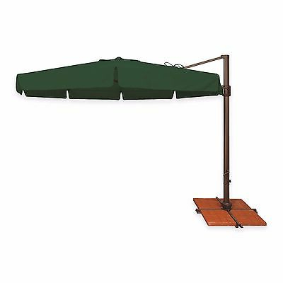 Phat Tommy 11 Ft Cantilever Offset Aluminum Market Patio Umbrella For Current Phat Tommy Cantilever Umbrellas (View 14 of 25)