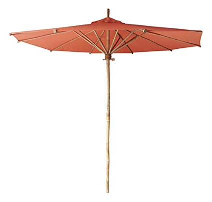 Phat Tommy Cantilever Umbrellas Throughout Recent Amazon : Phat Tommy Bamboo 7Ft Umbrella : Garden & Outdoor (View 16 of 25)