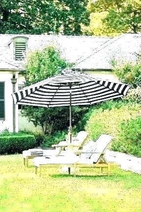 Phat Tommy Cantilever Umbrellas Within Widely Used Black Patio Umbrella Offset With Base Threshold Round Pole Brand New (View 17 of 25)