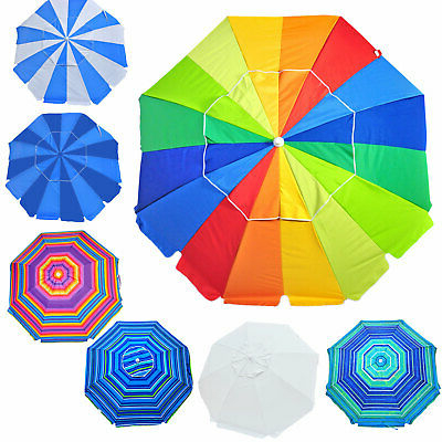Picclick Throughout Schroeder Heavy Duty Beach Umbrellas (View 13 of 25)