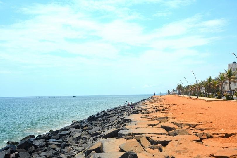 Popular 17 Best Beaches In Pondicherry – Beach Resorts & Holiday Destinations For Auriville Beach Umbrellas (View 20 of 25)