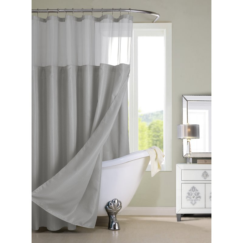 Popular Docia Single Shower Curtain Intended For Docia Market Umbrellas (View 16 of 25)