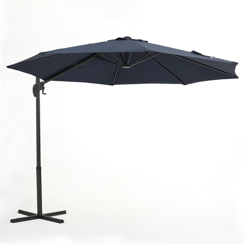 Popular Jaelynn Cantilever Umbrellas For Jaelynn  (View 14 of 25)