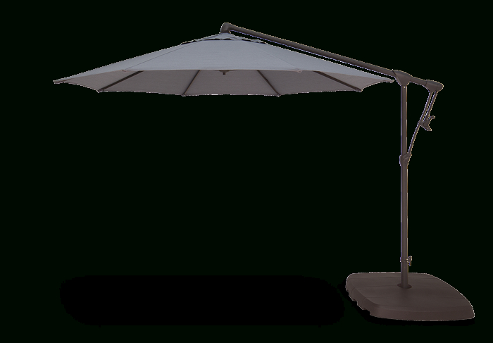 Popular Krystal Square Cantilever Sunbrella Umbrellas In Ag19 Cantilever (View 22 of 25)