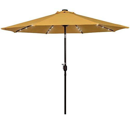Popular Market Umbrella 9 Ft: Amazon Intended For Leachville Market Umbrellas (View 7 of 25)