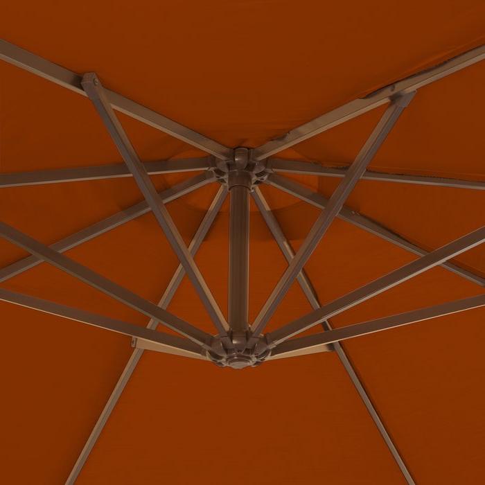 Popular Nasiba Square Cantilever Sunbrella Umbrellas For Nasiba  (View 15 of 25)