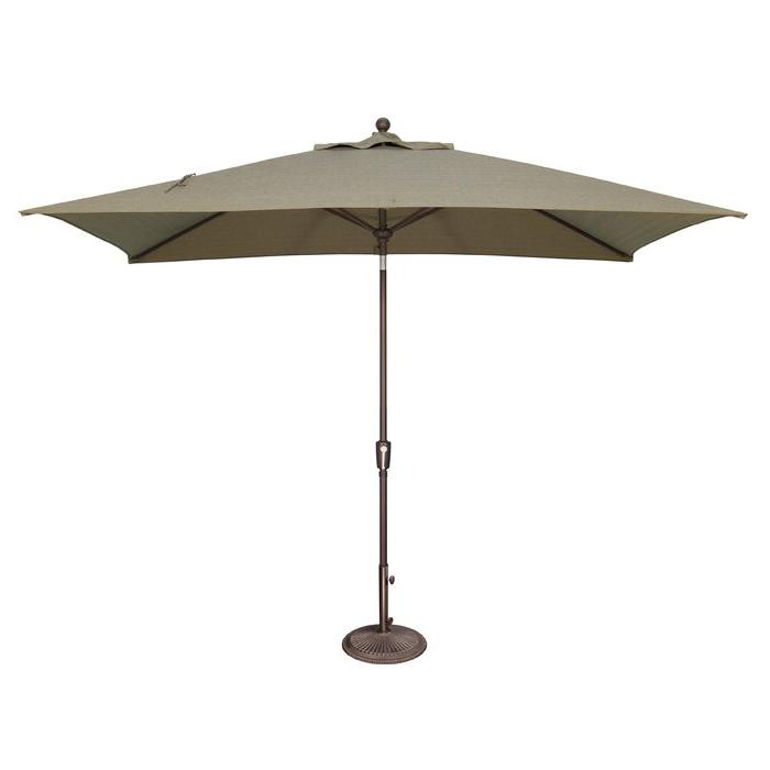 Popular Solid Rectangular Market Umbrellas Regarding Launceston 10' X (View 5 of 25)