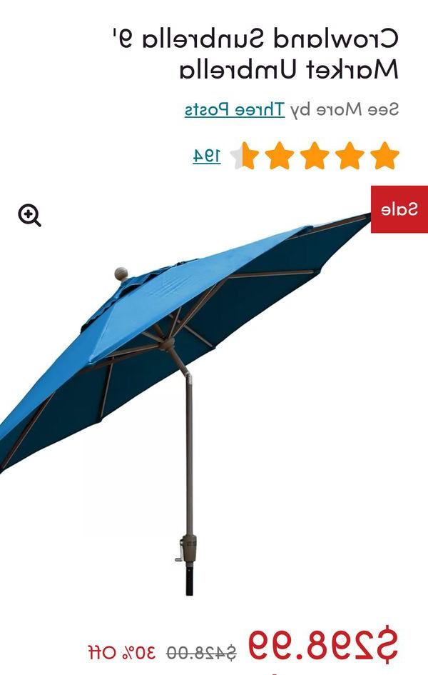 Popular Sunbrella Outdoor Umbrella For Sale In Gilbert, Az – Offerup Within Crowland Market Sunbrella Umbrellas (View 20 of 25)