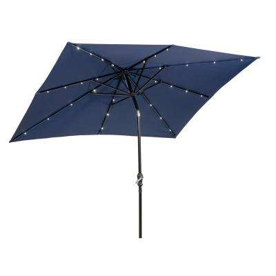 Popular Sunray – Patio Umbrellas – Patio Furniture – The Home Depot Inside Sun Ray Solar Cantilever Umbrellas (View 9 of 25)