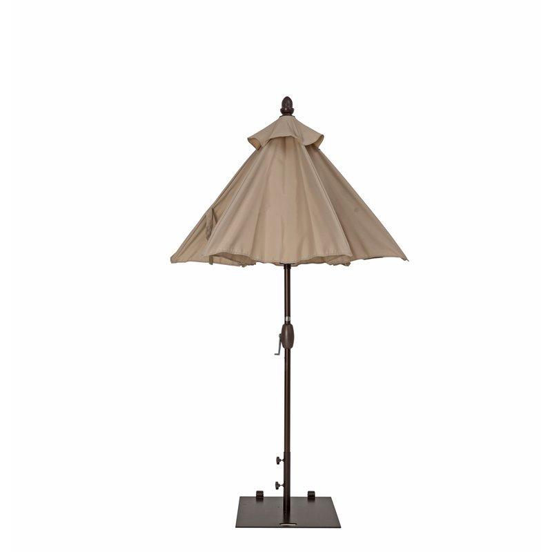 Popular Wetherby 7' Market Umbrella Regarding Wetherby Market Umbrellas (View 14 of 25)
