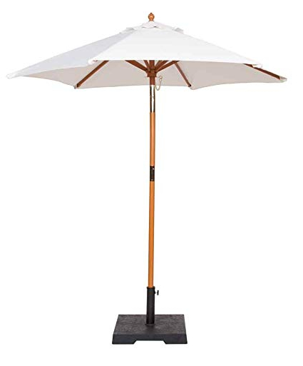 Preferred Allport Market Umbrellas With Regard To Pre Sales 6 Foot Market Umbrella In Natural (View 23 of 25)