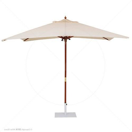 Preferred Allport Market Umbrellas Within Majorca Outdoor Market Umbrella 3M Square – Beige Milan Direct (View 19 of 25)