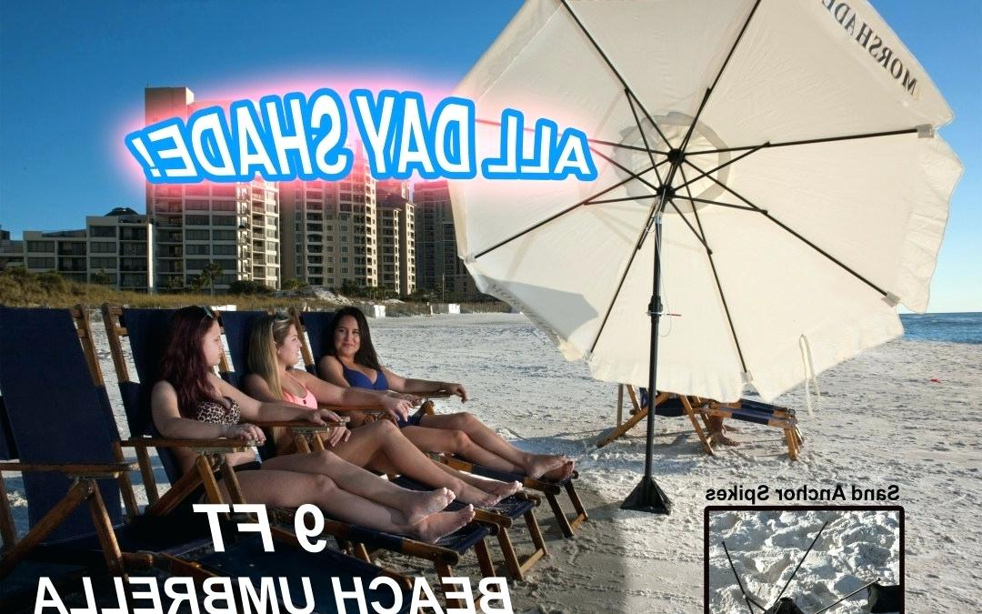 Preferred Alondra Ultimate Wondershade Beach Umbrellas Throughout Ultimate Beach Umbrella Summit Sand Anchor – Quizo (View 18 of 25)