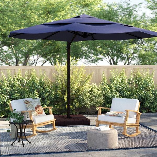 Preferred Carlisle 11' Cantilever Sunbrella Umbrella Intended For Carlisle Square Cantilever Sunbrella Umbrellas (View 5 of 25)