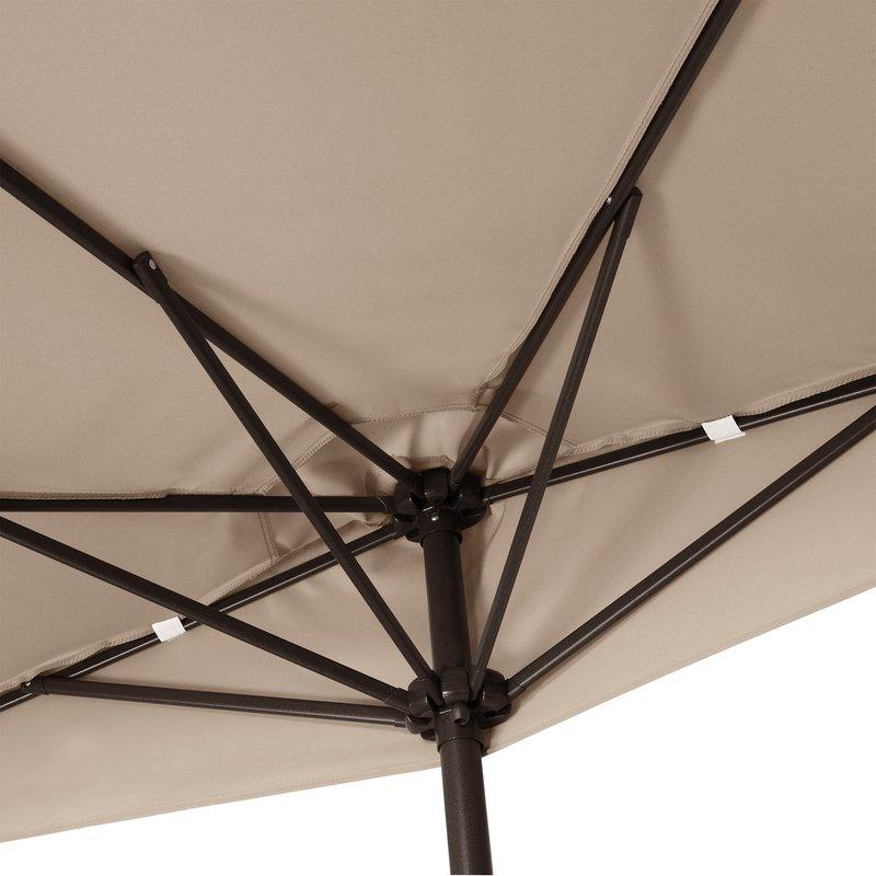 Preferred Colburn Half Market Umbrellas Inside Colburn Half 9' Market Umbrella (View 23 of 25)