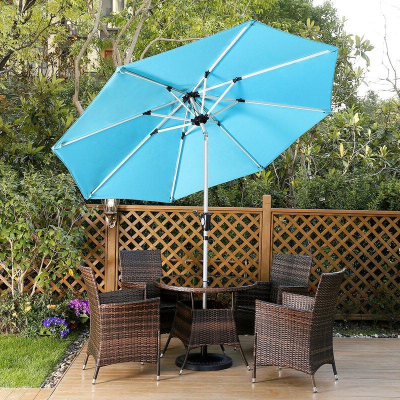 Preferred Hawkinge 9' Market Umbrella Inside Hawkinge Market Umbrellas (View 2 of 25)